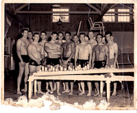 US Navy Hospital, Swim Team, Oakland California, 1959