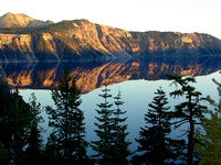 Crater Lake Oregon October 2002
